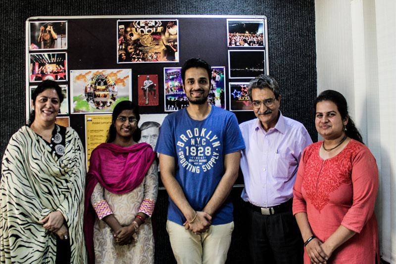 Manav Rachna Alumni Association was delighted to welcome Mr. Shivender Dahiya from ECE, FET, MRIU Batch
