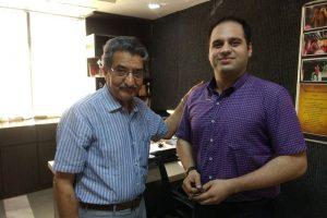 Mr. Harshvardhan Chaturvedi, Alumni of ECE, FET, MRIU 2013 – 2017 Batch visited the campus