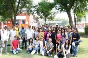 B.Tech Students visits Vita Milk Plant, Ballabgarh