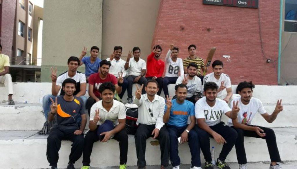 Civil Engineering Department Organized Cricket Match (3)