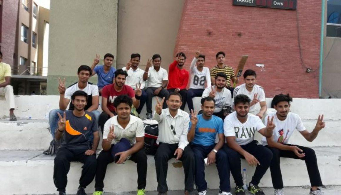 Civil Engineering Department Organized Cricket Match