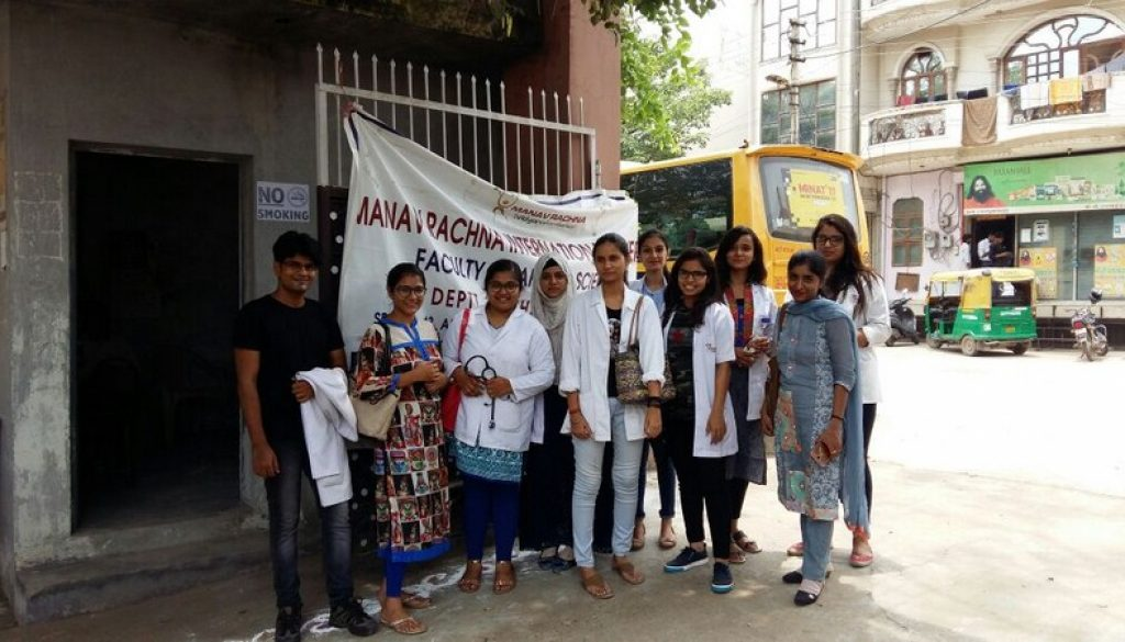 Community health camp at Government Girls School, NH5, NIT, Faridabad an initiative by O.P.BHALLA Foundation on 15-07-2017 (3)