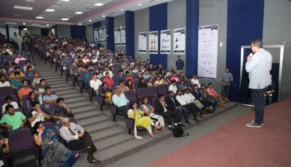 Corporate Leaders share their entrepreneurial journey with students of Manav Rachna