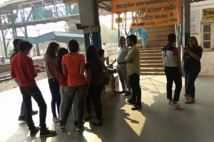 Swacch Bharat Abhiyaan – Old Faridabad Railway Station by Department of Business Studies