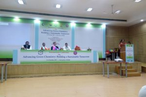 Department of Chemistry, MRU presented papers in Intl. Conf. on 'Advancing Green Chemistry Building a Sustainable Tomorrow' (1)