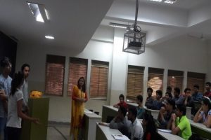 Department of Computer Applications, MRIU organised a group discussion and debate (4)