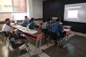 ICT program on VLSI Design Conducted by ECE, MRU (2)
