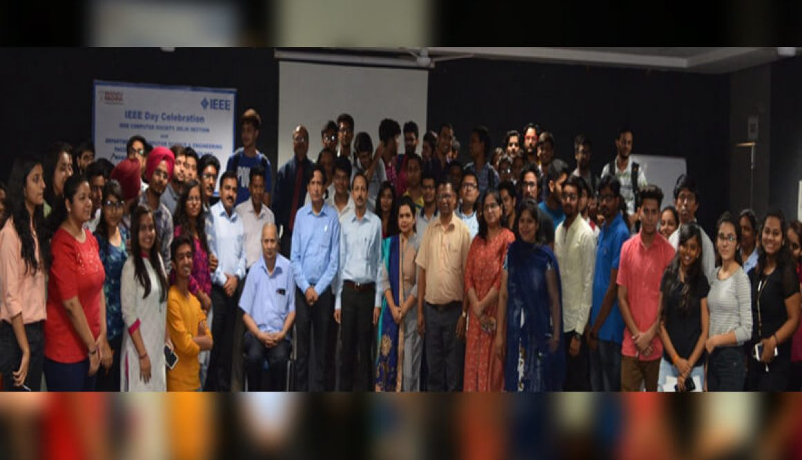 MRIU Celebrated The 8th Edition Of IEEE Day 'Leveraging Technology For A Better Tomorrow' With Great Zeal And Enthusiasm!
