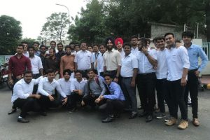 Report of Industrial visit to Honda Motorcycle and Scooter India Pvt. Ltd.