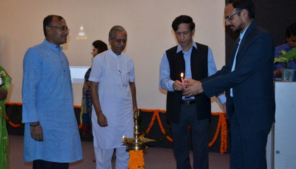 Seminar on Gandhian Perspective of Journalism at Manav Rachna International University (1)