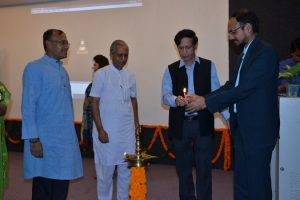 Seminar on Gandhian Perspective of Journalism at Manav Rachna International University (1)