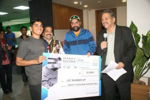 The 3 Day Manav Rachna Open Shooting Championship 2017 concluded with Yashaswani winning the title
