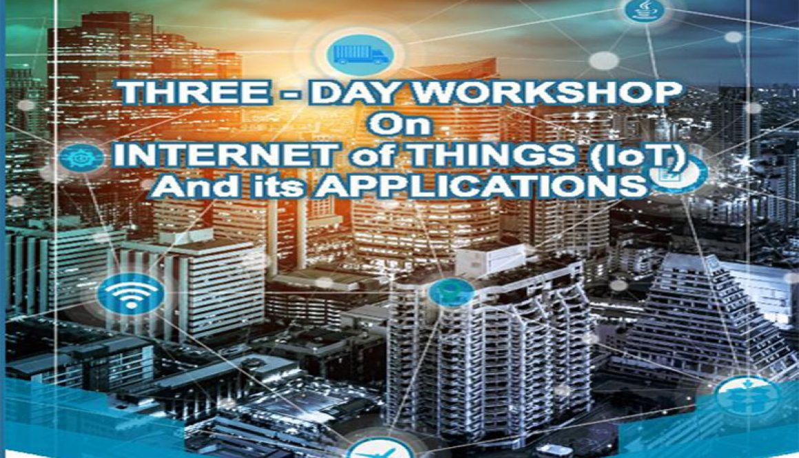 """Workshop on """"Internet of Things & its Applications"""" – MRIU"""
