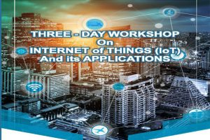 "Workshop on ""Internet of Things & its Applications"" – MRIU"