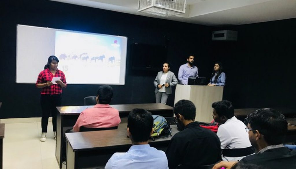 Department of Management and Commerce, MRU organised a Guest Lecture for the students of BBA 1st and 3rd Semester on 'Licensing and Franchise' (2)