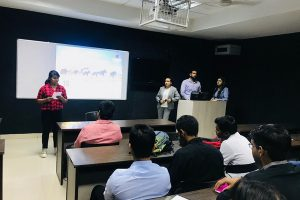 Department of Management and Commerce, MRU organised a Guest Lecture for the students of BBA 1st and 3rd Semester on 'Licensing and Franchise'