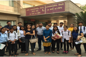 Department of Management and Commerce organized an Industrial (Hospital) visit for BBA HCM students