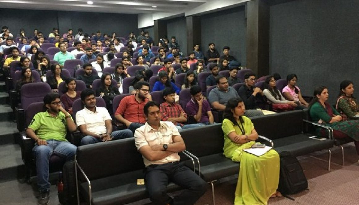 Expert Lecture by Mr. Hemant Gaur, Solution Architect and Project Management expert,Pitney Bowes