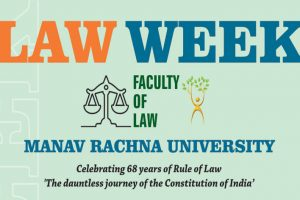 Law Week at Faculty of Law, Manav Rachna University