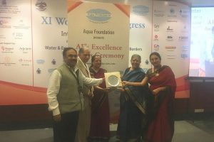 Manav Rachna's Centre for Advanced Water Technology & Management bestowed with the prestigious 'Aqua Excellence Award'