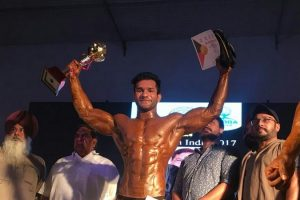 Manav Rachna Student bags the title of Mr North India 2017