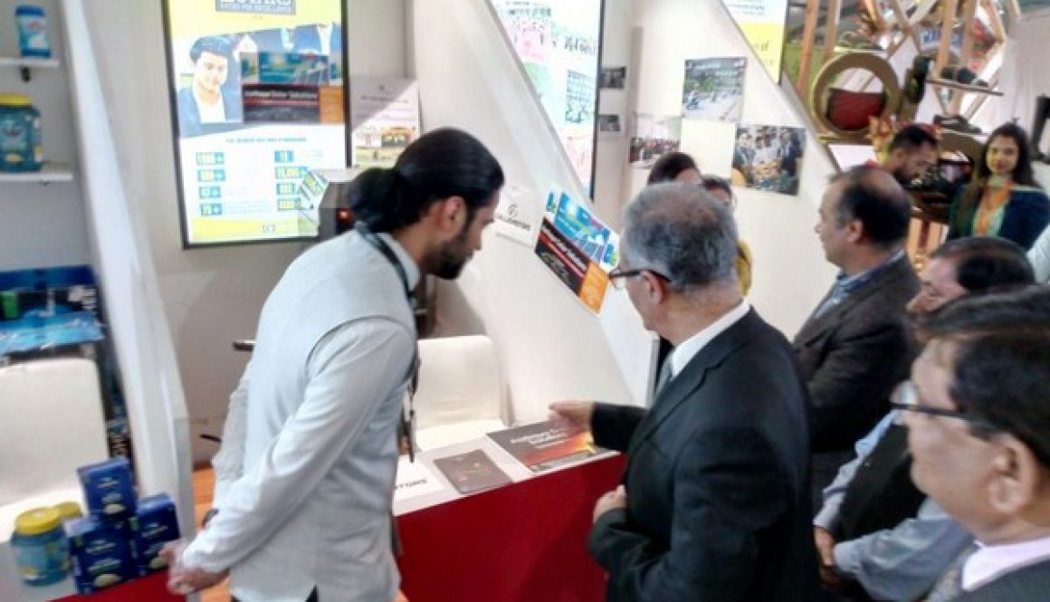 Sh. Depinder Singh Dhesi, Chief Secretary of Haryana visits us at IITF 2017