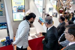 Sh. Depinder Singh Dhesi, Chief Secretary of Haryana visits us at IITF 2017 (1)