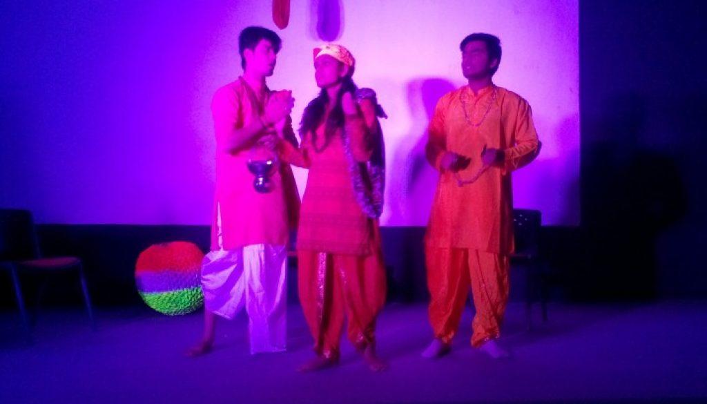 "Stage Play ""Andher Nagri, Chaupat Raja"""