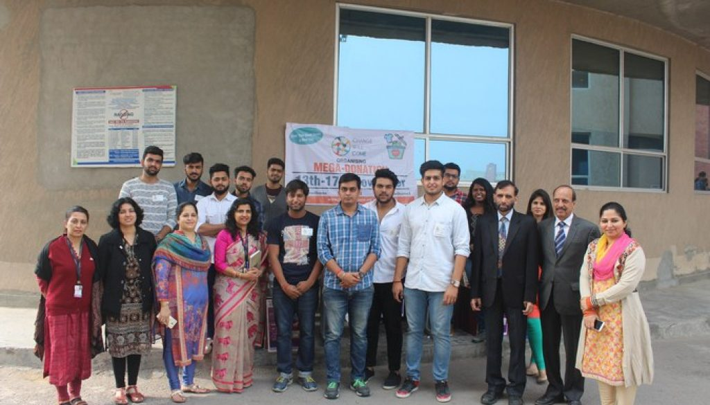 Students of Manav Rachna initiated an open society with a name Change Will Come (2)