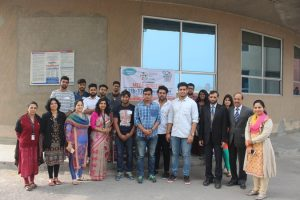 Students of Manav Rachna initiated an open society with a name Change Will Come
