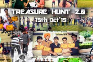 TREASURE HUNT 15th Oct 2015