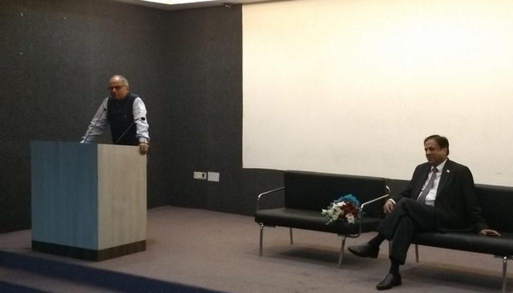 Talk with Senior Advocate Vinay Bhasin at Faculty of Law, MRU (2)