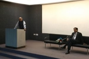 Talk with Senior Advocate Vinay Bhasin at Faculty of Law, MRU
