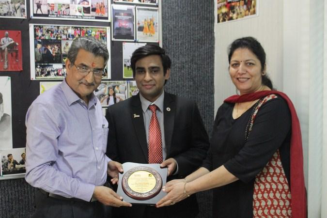 Manav Rachna Alumni Association invited Mr. Anshul Mudgal, Alumni of CITM, MBA