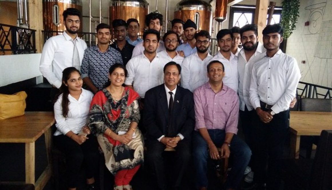 Department of Management & Commerce organized an Industrial visit for BBA 2K16 and 2K17 – Entrepreneurship & Family Business (EFB) students