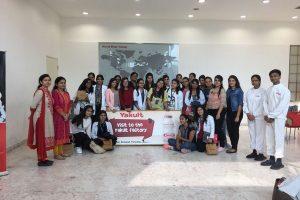 MRIU students visit Yakult