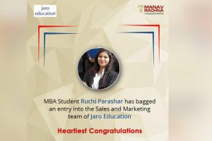 MBA student joins Jaro Education
