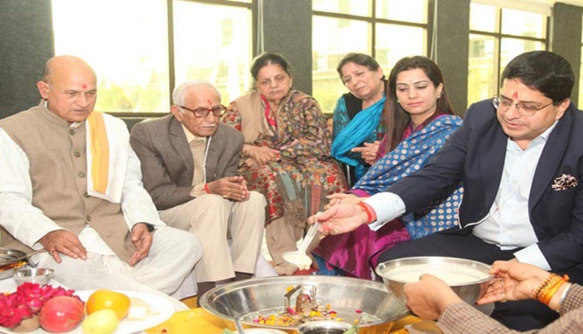 MREI Organizes the Maha Mritunjaya Yagna