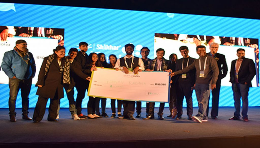 Manav Rachna's NewGen IEDC secures Third Position at StartUp Jalsa