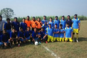 Students of MRIIRS (formerly MRIU) participated in North Zone Inter-University Football (M) tournament 2017-2018 (1)