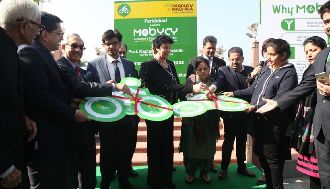 Mobycy bicycles flagged off from the MREI campus