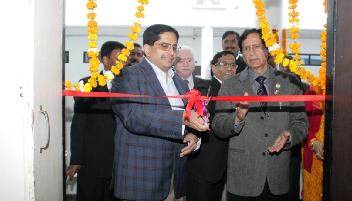 Inauguration of 'Air Quality Monitoring Lab' at Manav Rachna Campus, Faridabad