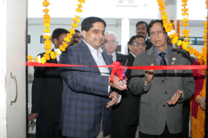 Inauguration of 'Air Quality Monitoring Lab' at Manav Rachna Campus, Faridabad