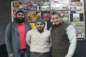 Alumni of B Tech (Civil) FET visited campus