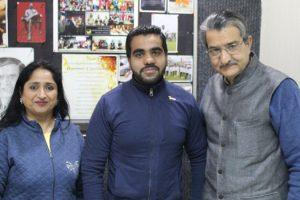FCA Alumnus visited the MRIIRS Campus