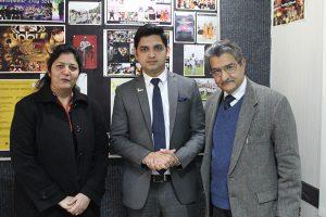 Alumnus Visited Manav Rachna Campus
