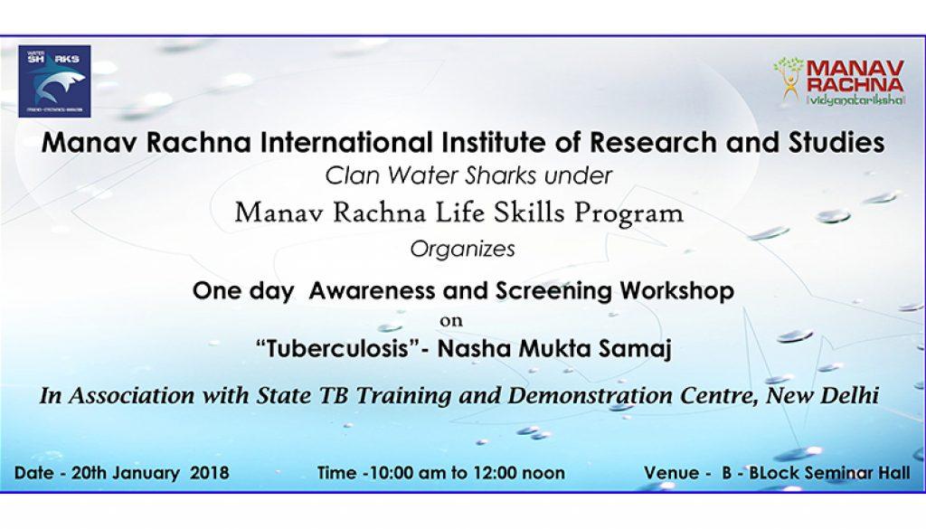 Awareness Workshop On Tuberculosis