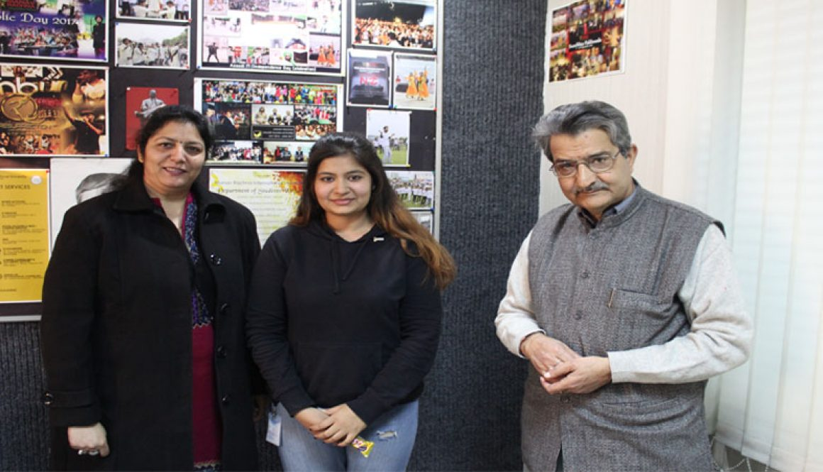 B. Tech. CSE Alumni of MRU Visited the Campus