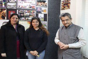 B Tech CSE Alumni of MRU Visited the Campus