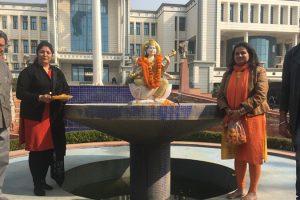 Celebration for Basant Panchami and Saraswati Pooja
